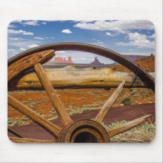 Wagon wheel close up, Arizona Mouse Pad
