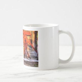 WAGON WHEEL RURAL QUEENSLAND AUSTRALIA COFFEE MUG