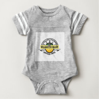 wagon wheel WV Baby Bodysuit