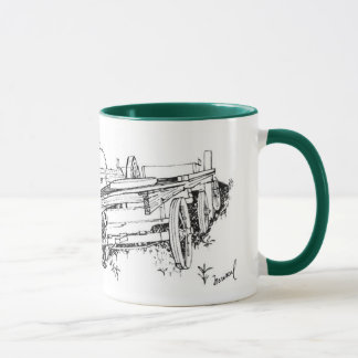 Wagons Drawing Mug
