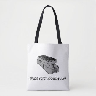 Wah You Lookin' At? Music Tote Bag