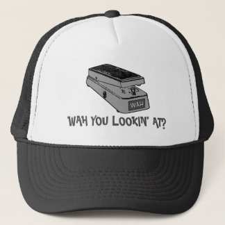 Wah You Lookin' At? Music Trucker Hat