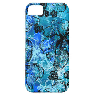 Wahine Lace Hawaiian Orchid iPhone 5 Cases