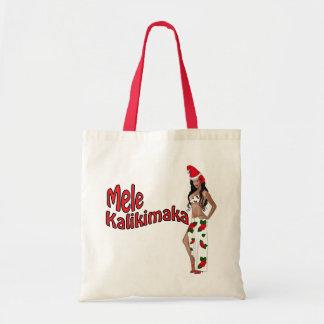 Wahine Pinup Mele Kalikimaka Christmas Bag 2