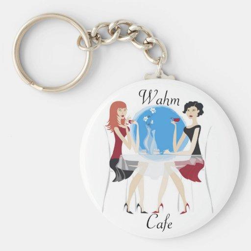 Wahm Cafe Keychain