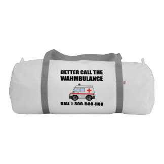 Wahmbulance Boo Hoo Gym Bag