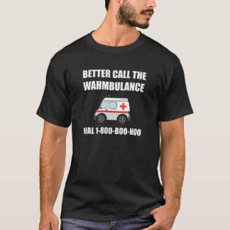 Wahmbulance Boo Hoo T-Shirt