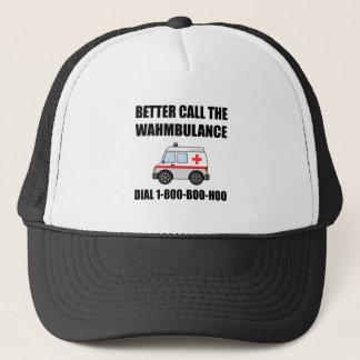 Wahmbulance Boo Hoo Trucker Hat