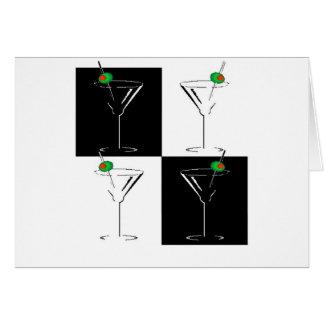 Wahol Martini Card