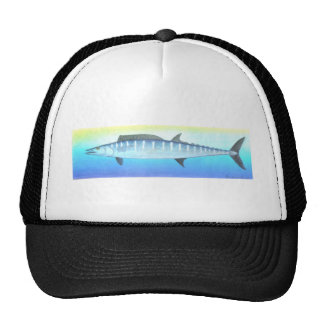 Wahoo fish trucker hat