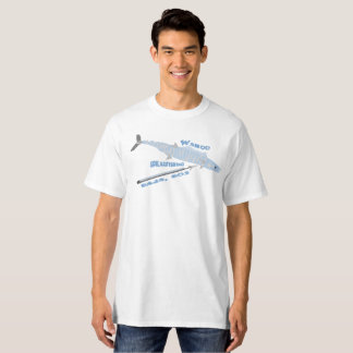Wahoo Spearfishing, Baja, BCS T-Shirt