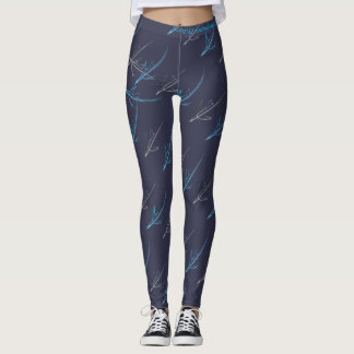 WAI Australian Chapter Black Airplane Leggings