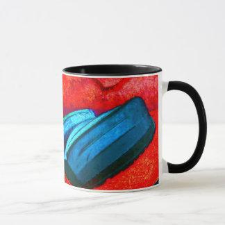 """""""Waiheke Island"""" - Kennedy Point Dinghies Pop ART Mug"""