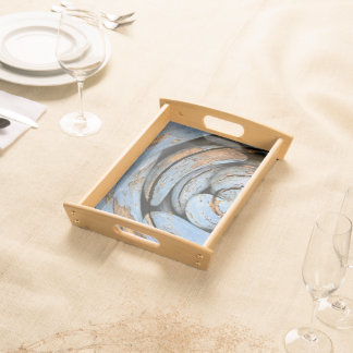 """Waiheke Island"" - Weathered Stones Polar Serving Trays"