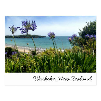 Waiheke, New Zealand postcard