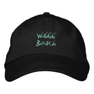 WAIKIKI BEACH 1 cap Embroidered Hats
