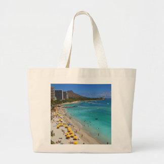 Waikiki Beach Tote Bags