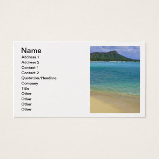 Waikiki Beach Business Card