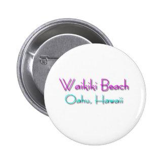 Waikiki Beach Pin
