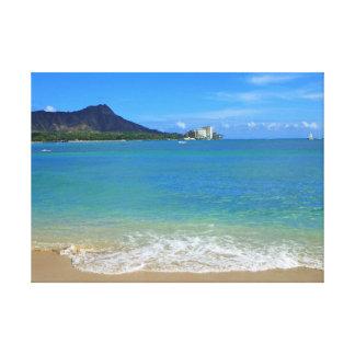 Waikiki Beach Canvas Print