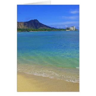 Waikiki Beach Greeting Card