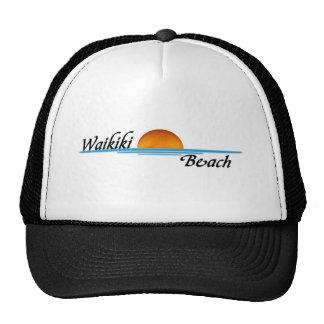 Waikiki Beach Trucker Hats