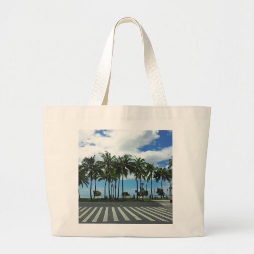 Waikiki Beach Hawaii Tote Bag