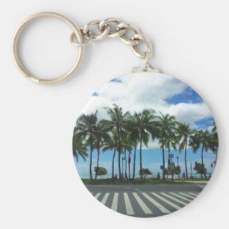 Waikiki Beach Hawaii Key Chain