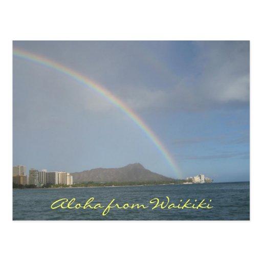 Waikiki Beach, Hawaii Postcards