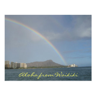 Waikiki Beach Hawaii Postcards
