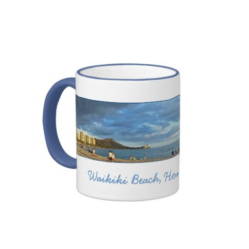 Waikiki Beach Coffee Mugs