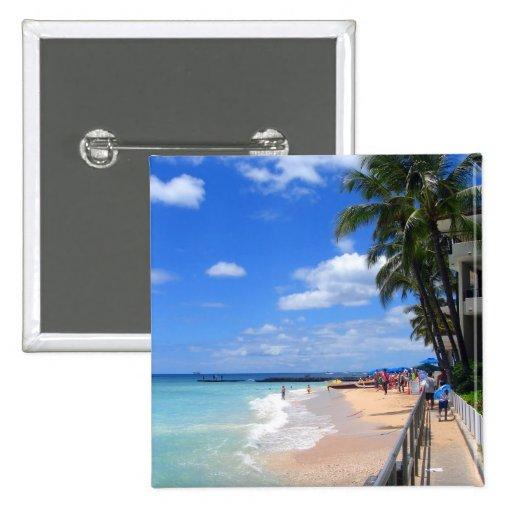 Waikiki Beach, Oahu, Hawaii Pin