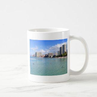 Waikiki Beach, Oahu, Hawaii Coffee Mug