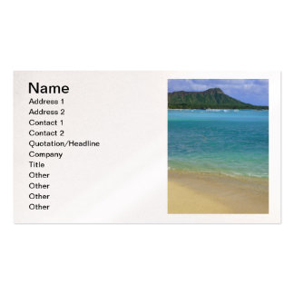 Waikiki Beach Pack Of Standard Business Cards