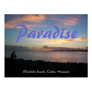 Waikiki beach postcards