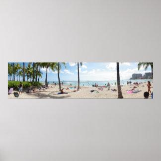 Waikiki Beach Print