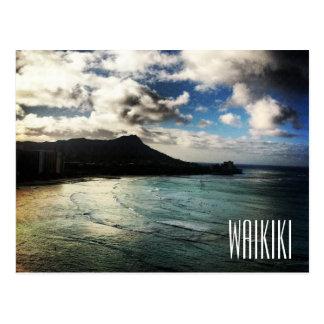 Waikiki Beach Sunrise Postcard