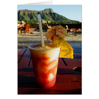 Waikiki Happy Hour Card