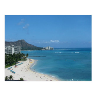Waikiki Hawai'i Postcard