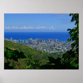 Waikiki, Hawaii Poster