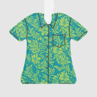 Waikiki Hibiscus Hawaiian Pareau Flora Aloha Shirt