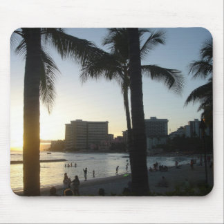 Waikiki Honolulu, HI Mouse Pad