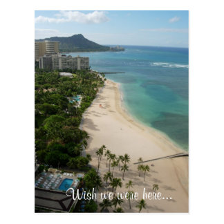 Waikiki Paradise, Wish we were here... Postcard