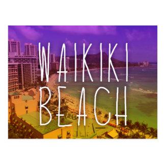 Waikiki postcard