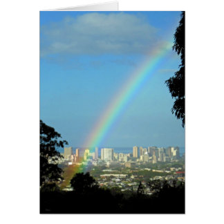 Waikiki Rainbow Card