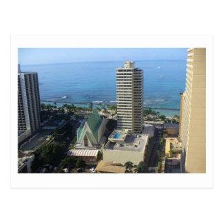 Waikiki Skyline Postcard