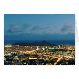 Waikiki Sunset Card