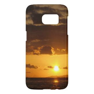 Waikiki Sunset Samsung Galaxy S7 Case