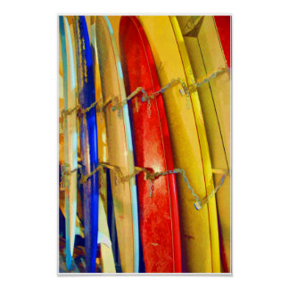 Waikiki Surfboards Print