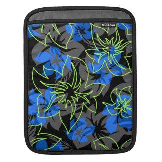 Wailea Hibiscus Hawaiian Rickshaw iPad Case